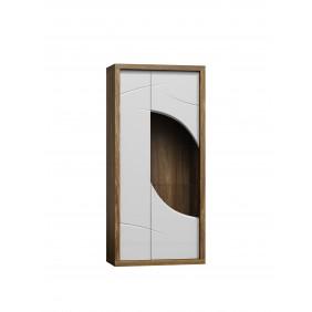 Szeroka, biała witryna w stylu nowoczesnym JRPWi1