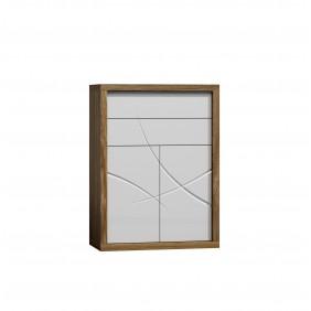 Biała komoda w stylu nowoczesnym JRPK3