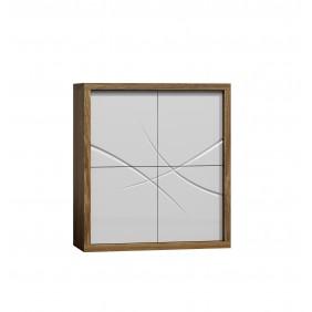 Biała komoda w stylu nowoczesnym JRPK4
