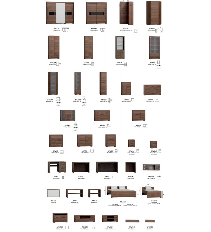 Łóżko (140x200 cm) w stylu nowoczesnym Vegas V-19 (150)