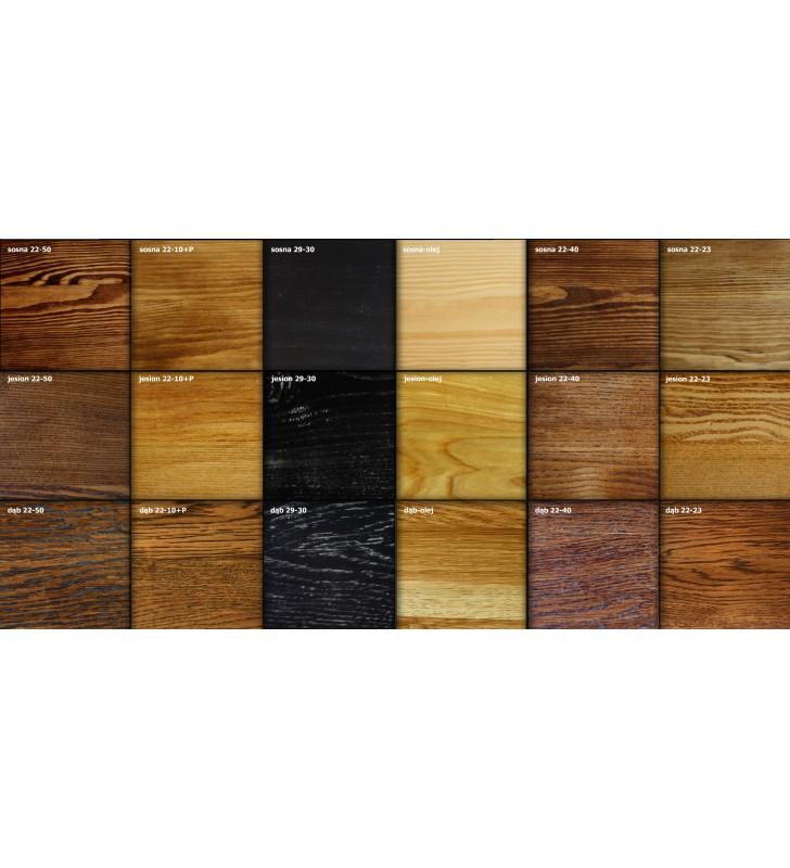 Konsola, mebel industrialny z drewna i stali DSMTk2