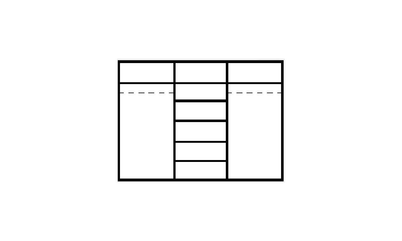 Duża szafa w stylu rustykalnym Mezo MZ-3