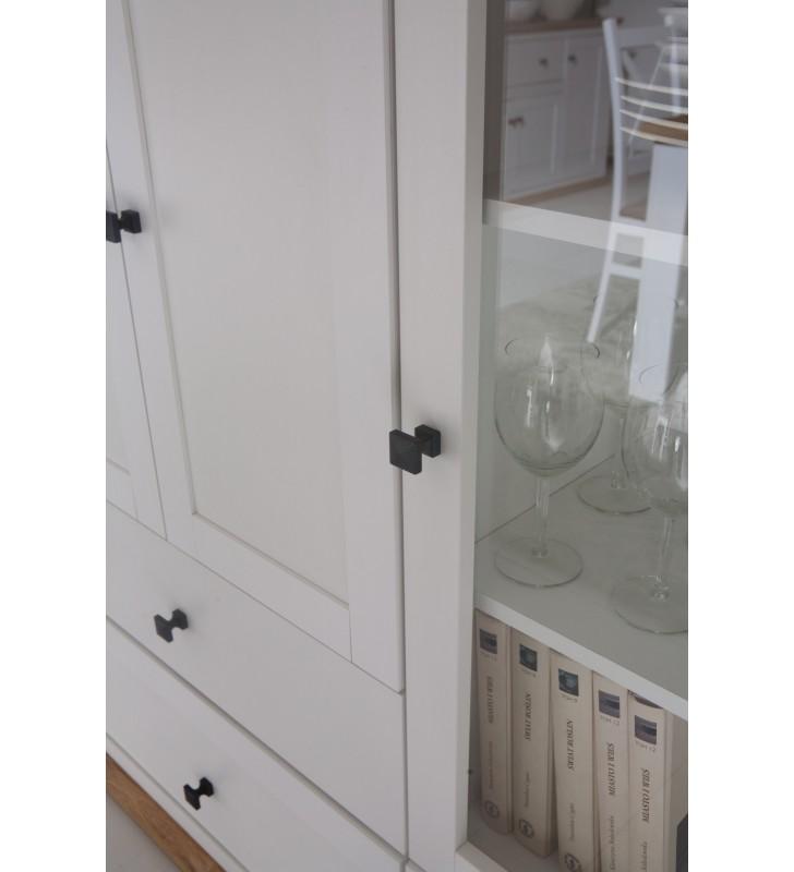 Łóżko (140x200 cm) w stylu rustykalnym Mezo MZ-20