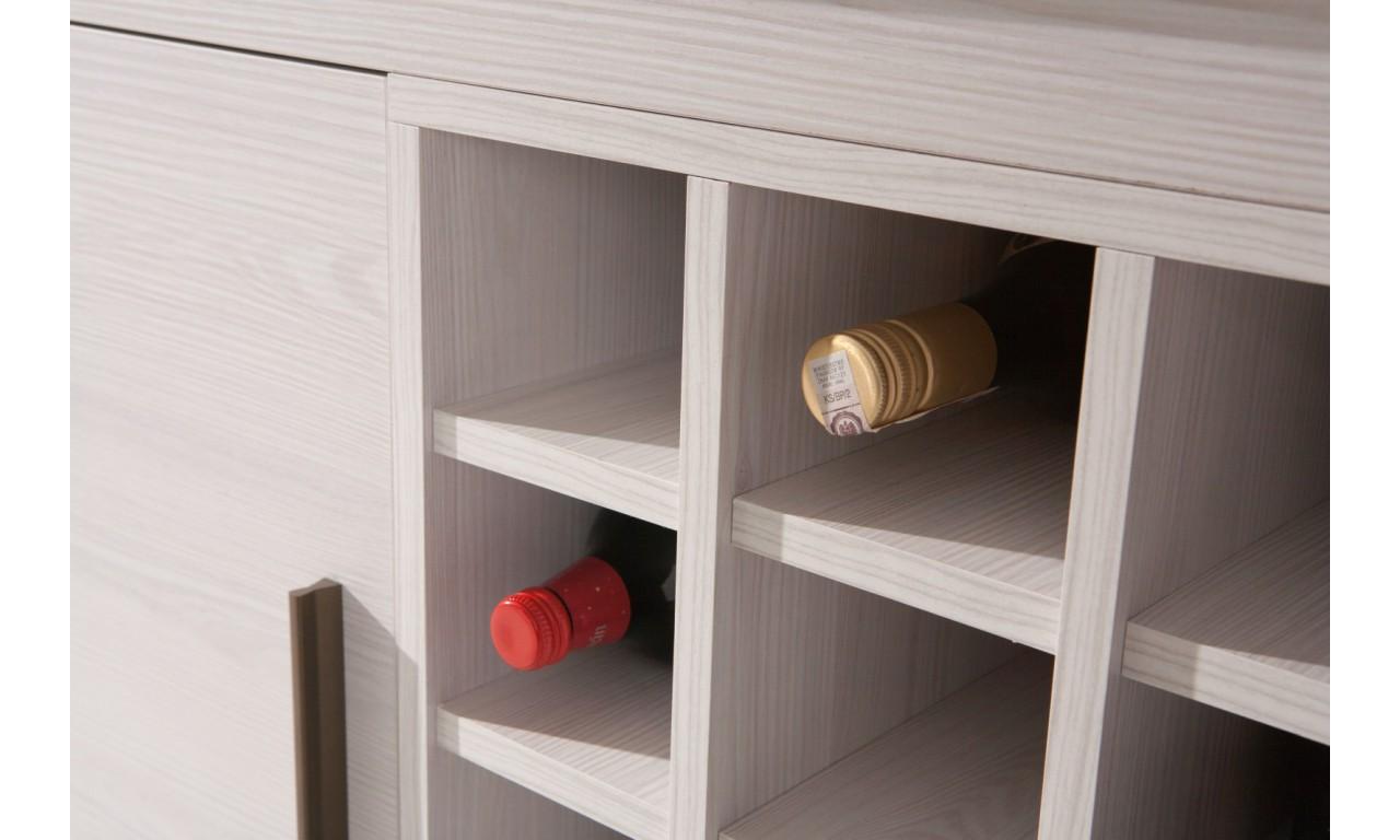 Komoda z szufladami łącząca styl nowoczesny i klasyczny Amber AR-13