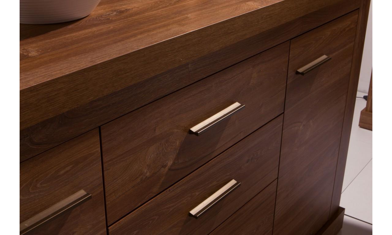 Półka wisząca łącząca styl nowoczesny i klasyczny Amber AR-10