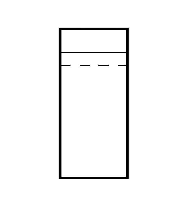 Wąska szafa w stylu prowansalskim Diana DA-3