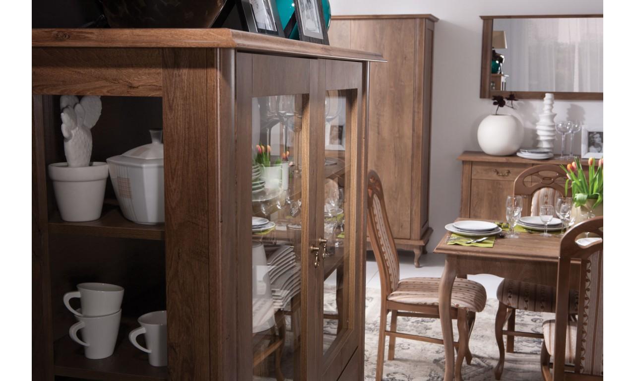 Wąska komoda z szufladami w stylu prowansalskim Diana DA-12