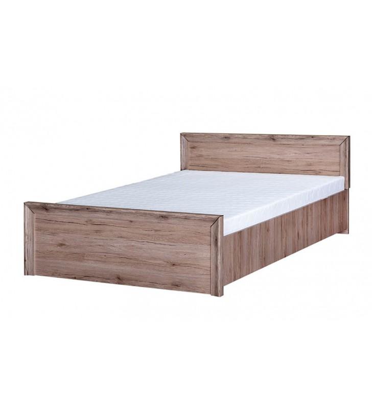 Łóżko (140x200 cm) w stylu klasycznym Mars MR-21