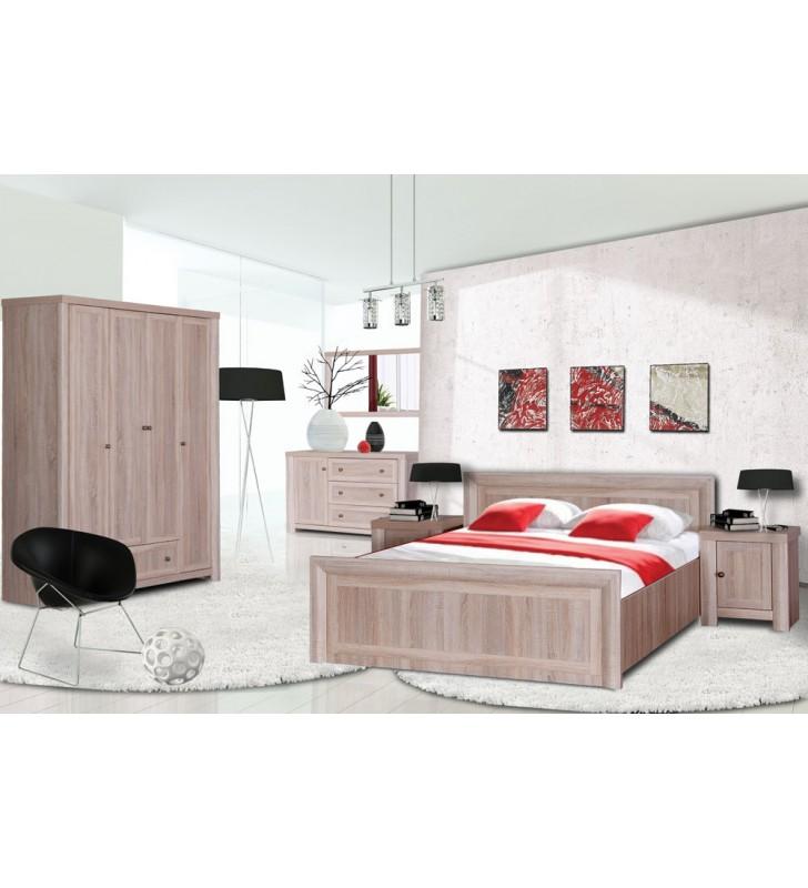 Łóżko (160x200 cm) w stylu klasycznym Venus VN-21
