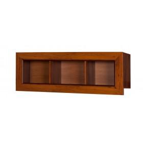 Brązowa półka wisząca w stylu klasycznym MTPk