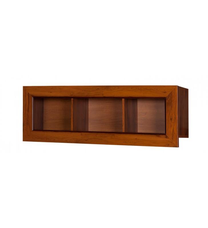 Brązowa półka wisząca w stylu klasycznym Tytan TP-120