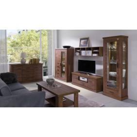 Zestaw mebli do salonu łączący styl nowoczesny i klasyczny MA2