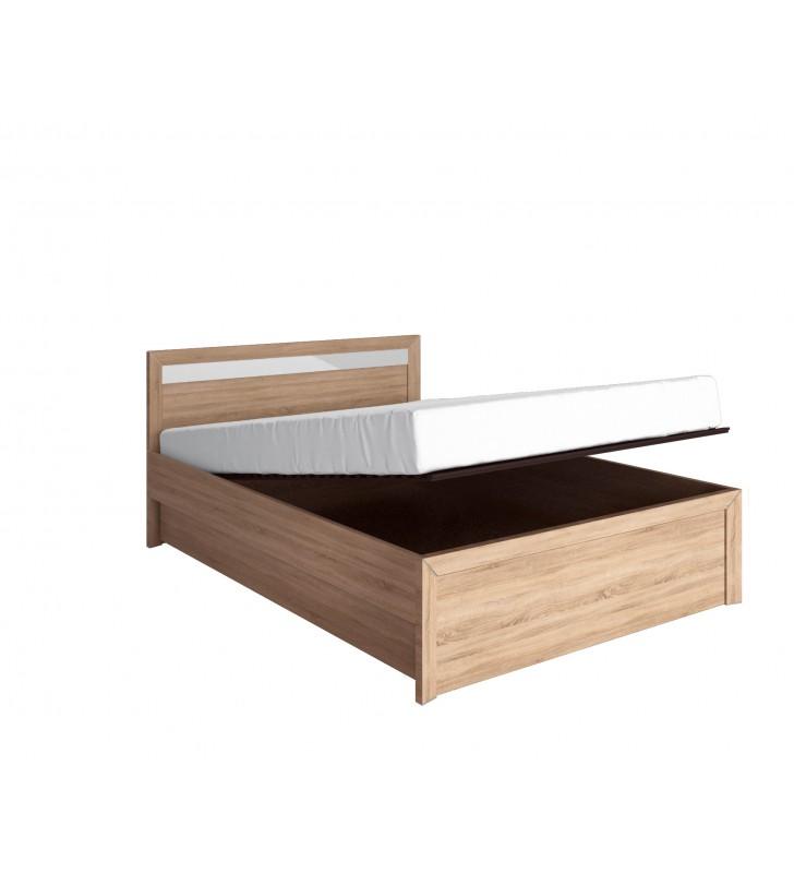 Łóżko (160x200 cm) z pojemnikiem Havana H-15
