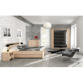Zestaw mebli w stylu nowoczesnym do sypialni SH4
