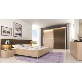 Zestaw mebli w stylu nowoczesnym do sypialni SCZM
