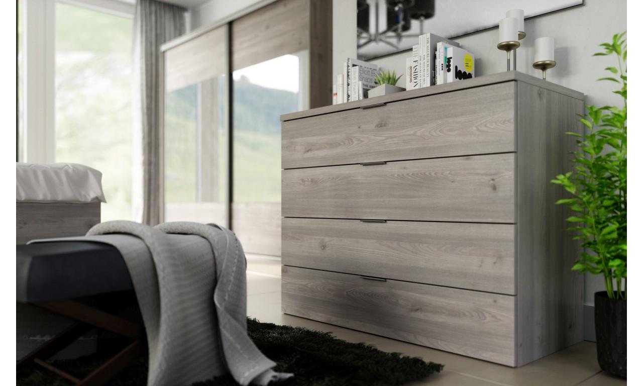 Zestaw mebli do sypialni w stylu nowoczesnym Inez 1