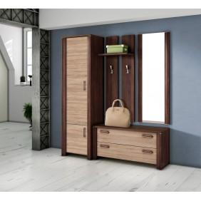 Garderoba z lustrem i szafą SGr2