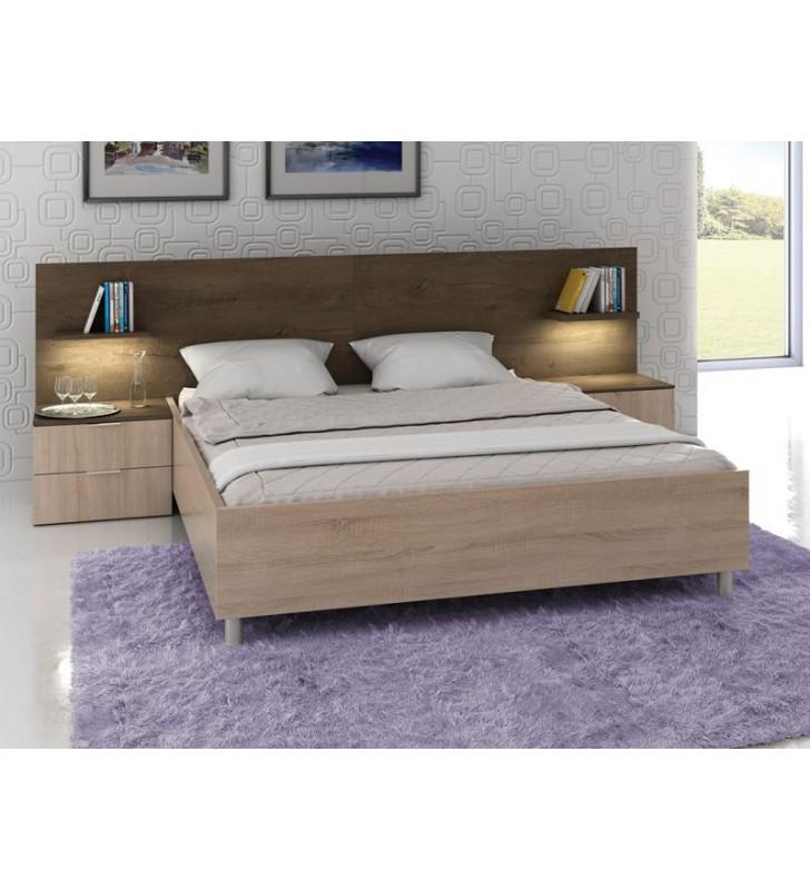 Zestaw mebli w stylu nowoczesnym do sypialni Carmen 1
