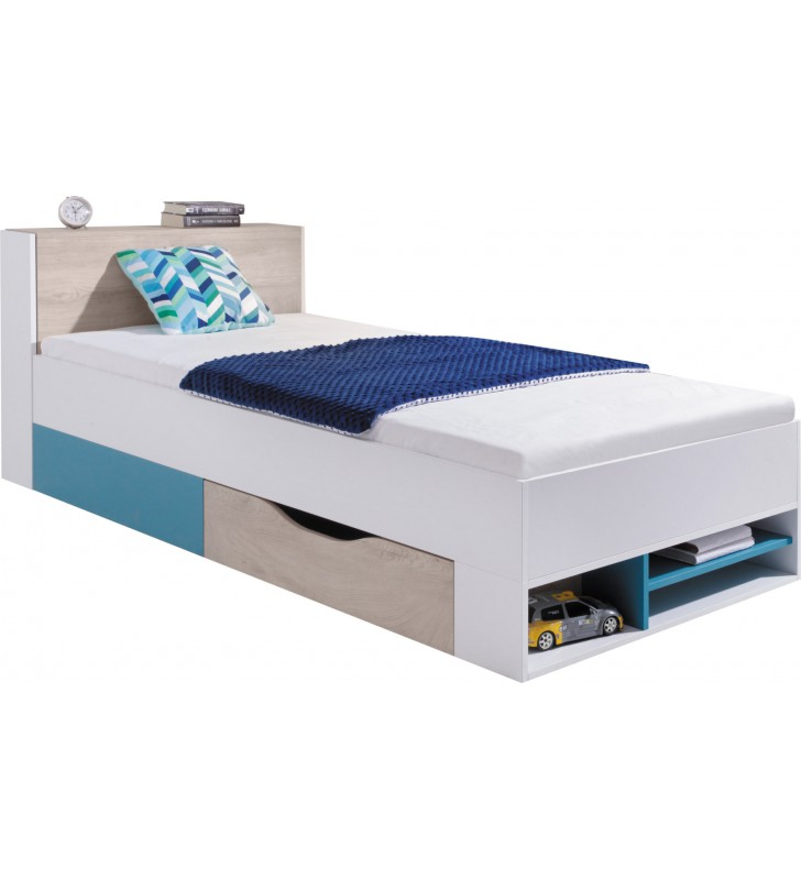 Łóżko (90x200 cm) w stylu nowoczesnym Planet 14