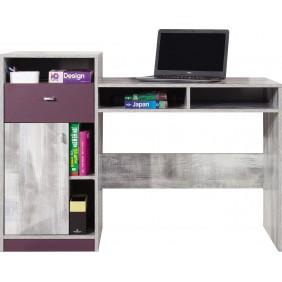 Biurko w stylu nowoczesnym do pokoju młodzieżowego ZOOM 9