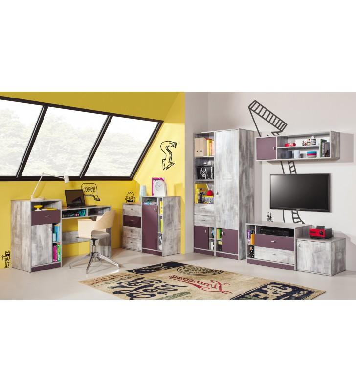 Półka wisząca w stylu nowoczesnym do pokoju młodzieżowego ZOOM 11