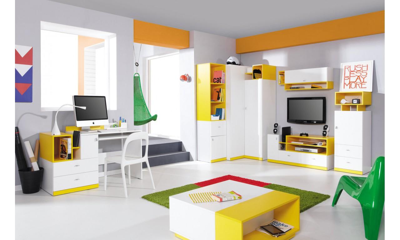 Regał w stylu nowoczesnym do pokoju dziecięcego MOBI 8