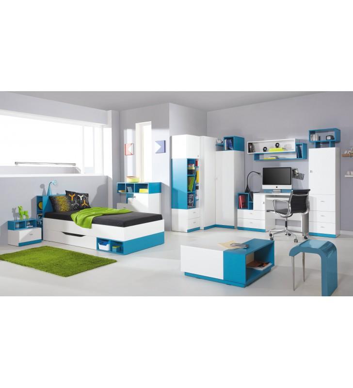 Półka wisząca w stylu nowoczesnym do pokoju dziecięcego MOBI 14