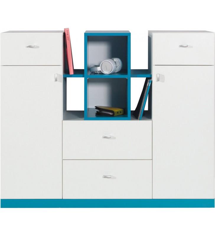 Zestaw mebli dziecięcych w stylu nowoczesnym MOBI ZS3