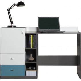 Biurko w stylu nowoczesnym do pokoju młodzieżowego Tablo 9