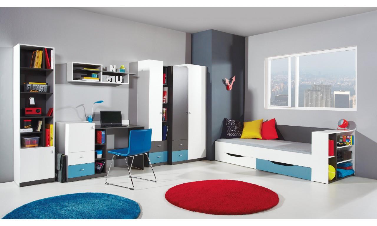 Półka wisząca w stylu nowoczesnym do pokoju młodzieżowego Tablo 10