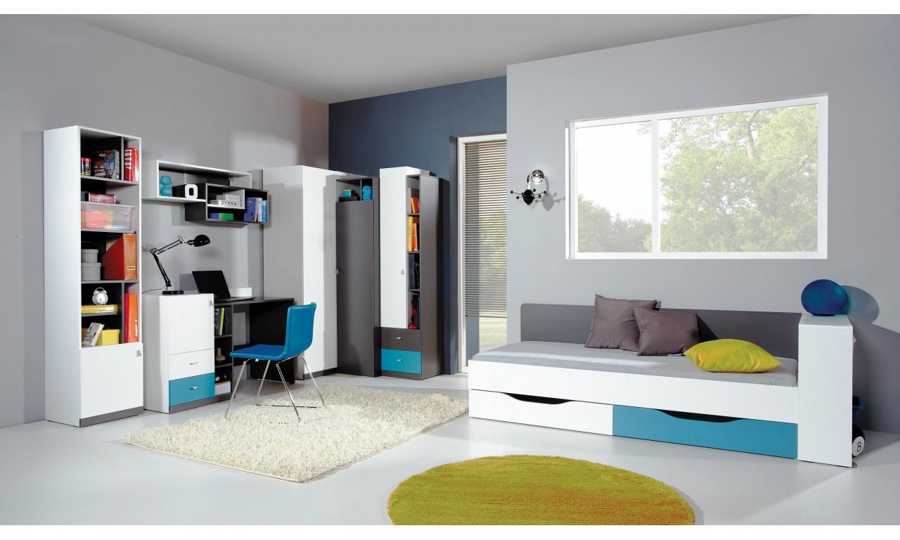 Dostawka/komoda w stylu nowoczesnym do pokoju młodzieżowego Tablo 12b