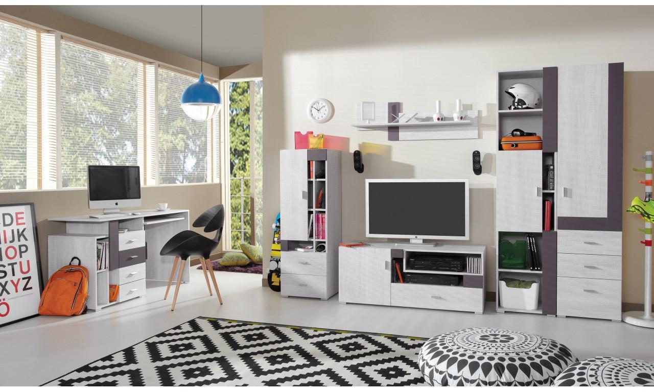 Półka wisząca w stylu nowoczesnym do pokoju młodzieżowego NEXT 15