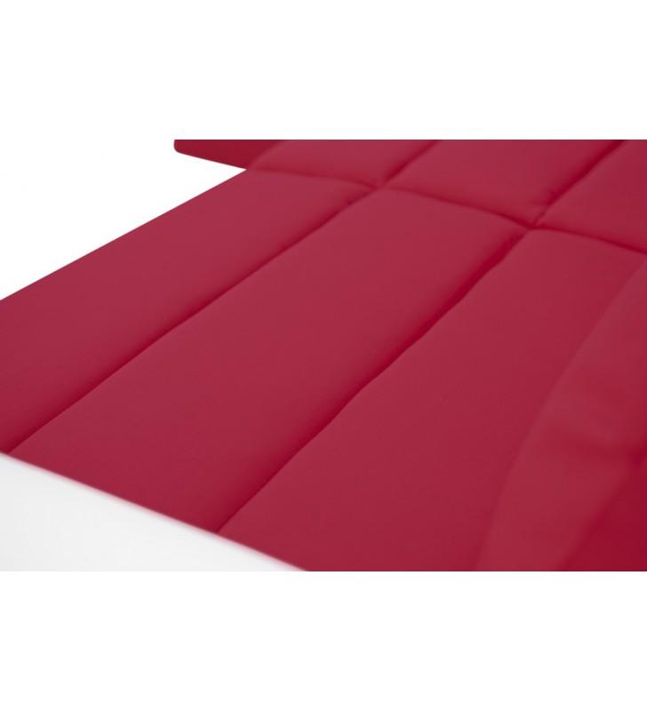 Czerwony narożnik z funkcją spania i pojemnikiem na pościel Kirii (c2309+c2316)
