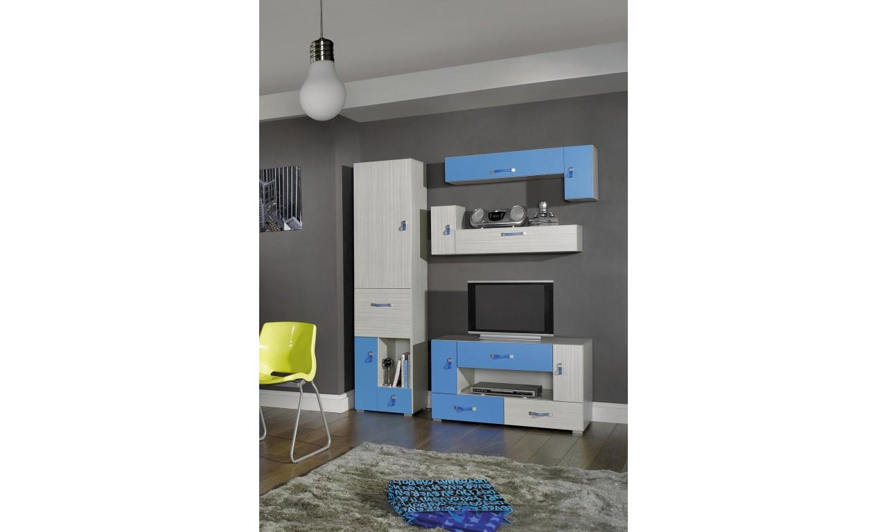 Biurko w stylu nowoczesnym do pokoju dziecięcego KOMI 13