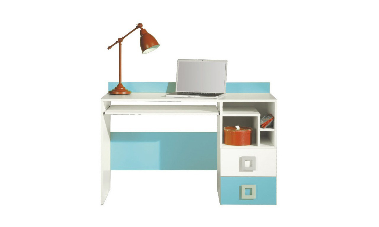 Biurko w kilku propozycjach kolorystycznych Labirynt 18