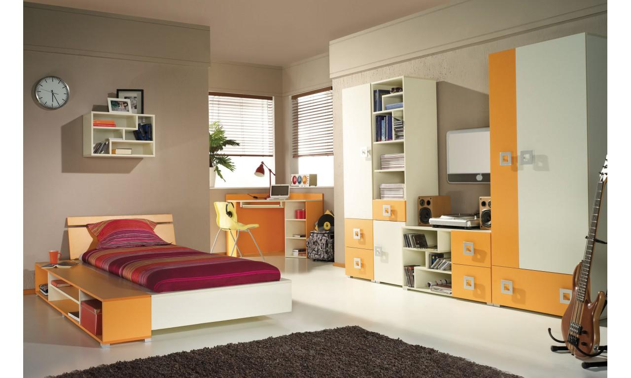 Łóżko (90x200 cm) w kilku propozycjach kolorystycznych Labirynt 22