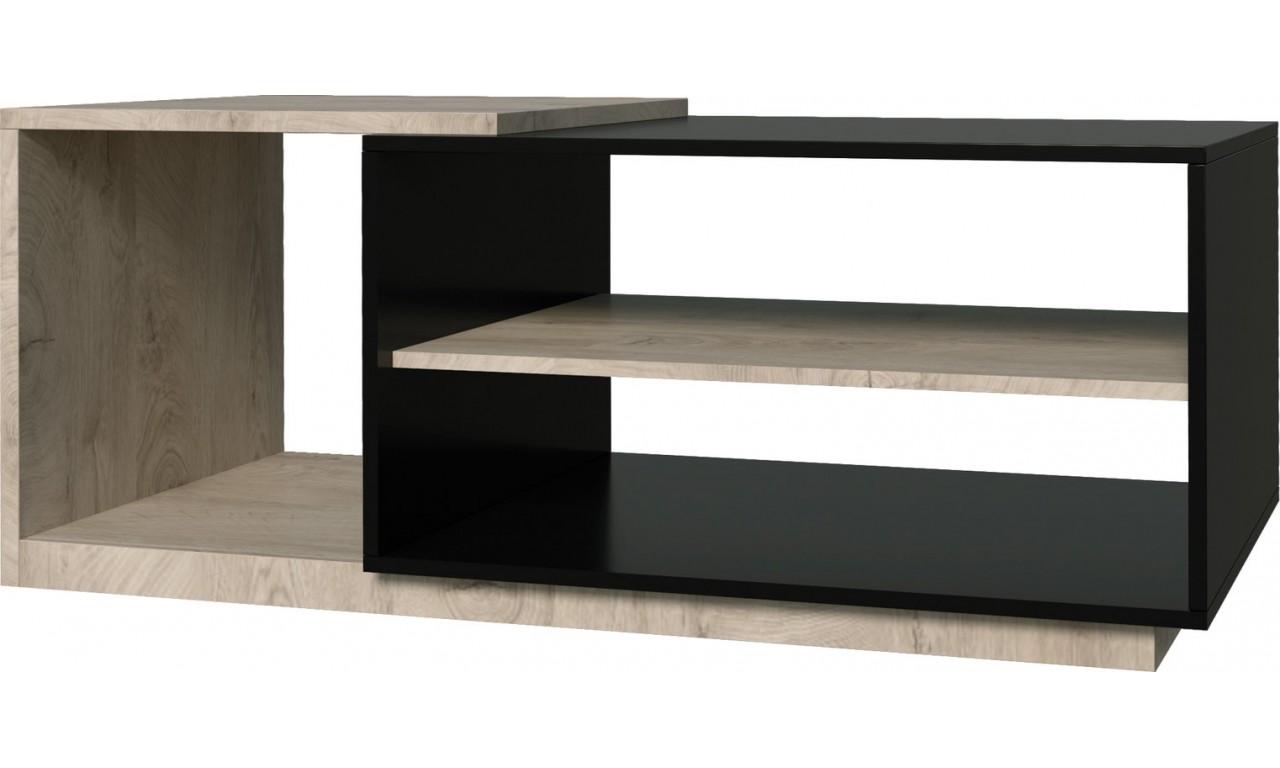 Białobrązowa lub czarnobrązowa ława w stylu nowoczesnym ETNA 13