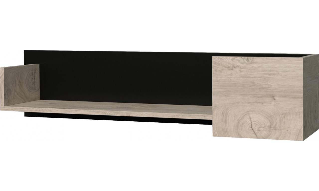 Zestaw białobrązowych lub czarnobrązowych mebli do salonu wraz z ławą ETNA F