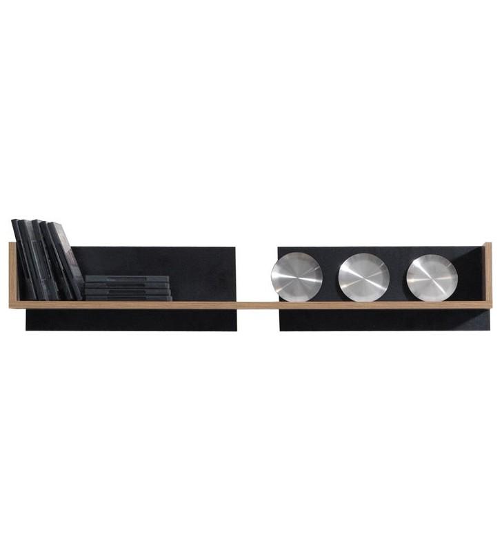 Czarnobrązowy lub białobrązowy zestaw mebli do salonu MONSUN D wraz z ławą