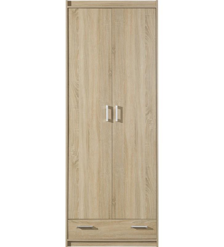Brązowa szafa w stylu klasycznym MEGA 4
