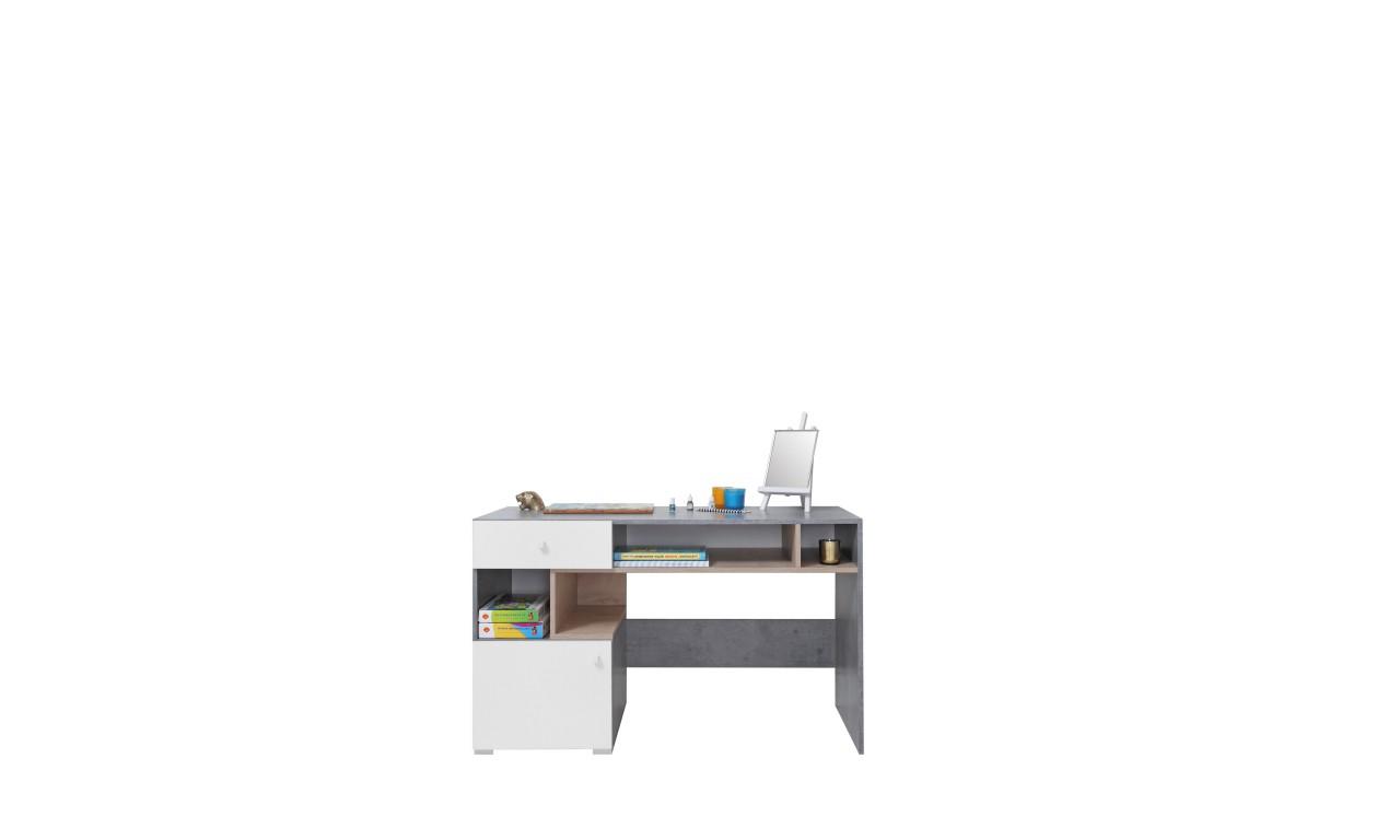 Biurko w stylu nowoczesnym do pokoju młodzieżowego SIGMA 10