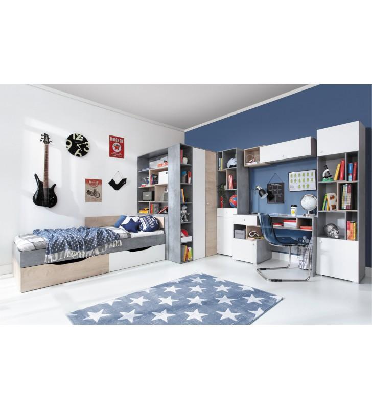 Półka wisząca w stylu nowoczesnym do pokoju młodzieżowego SIGMA 14