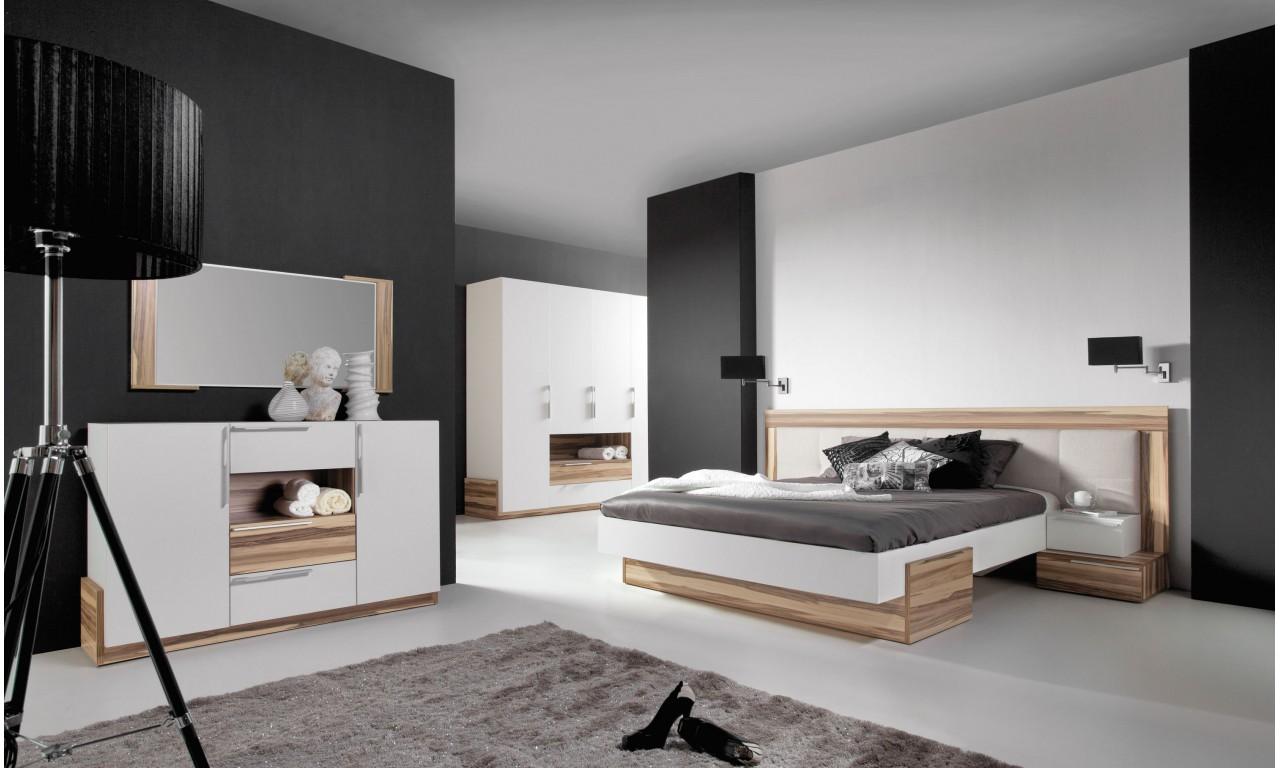 Łóżko (160x200 cm) w stylu nowoczesnym MORENA