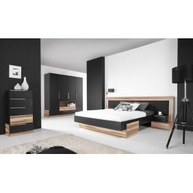 Zestaw mebli do sypialni w stylu nowoczesnym MORENA B