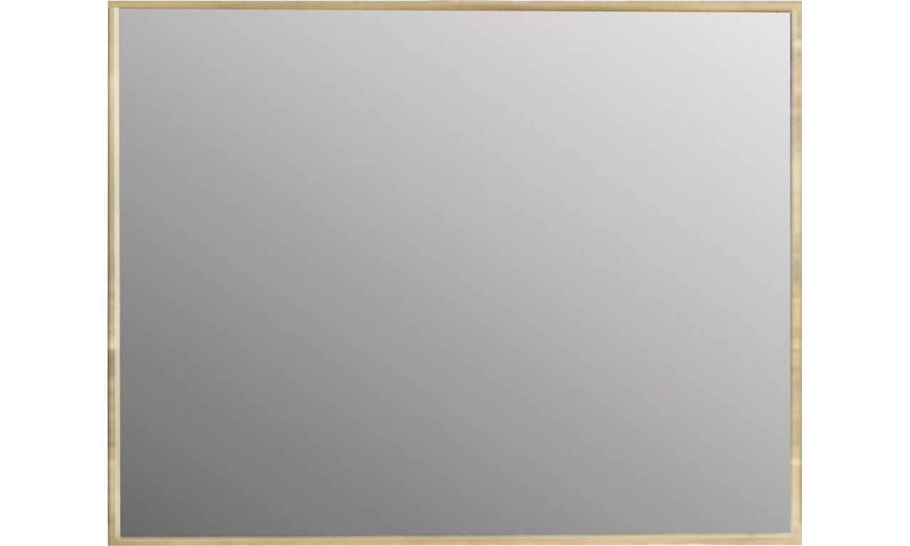Lustro z cienką ramą w stylu nowoczesnym MARGO