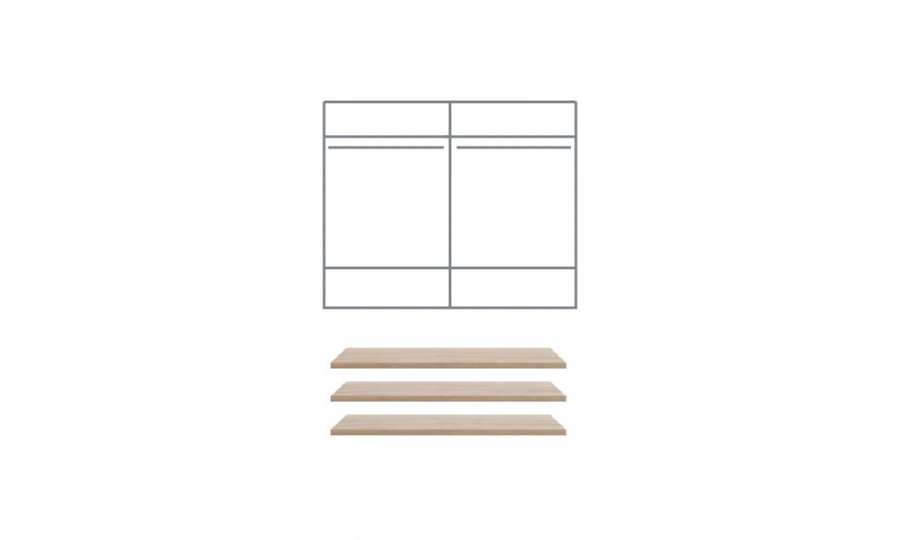 Zestaw mebli sypialnianych w stylu nowoczesnym MARGO 4D
