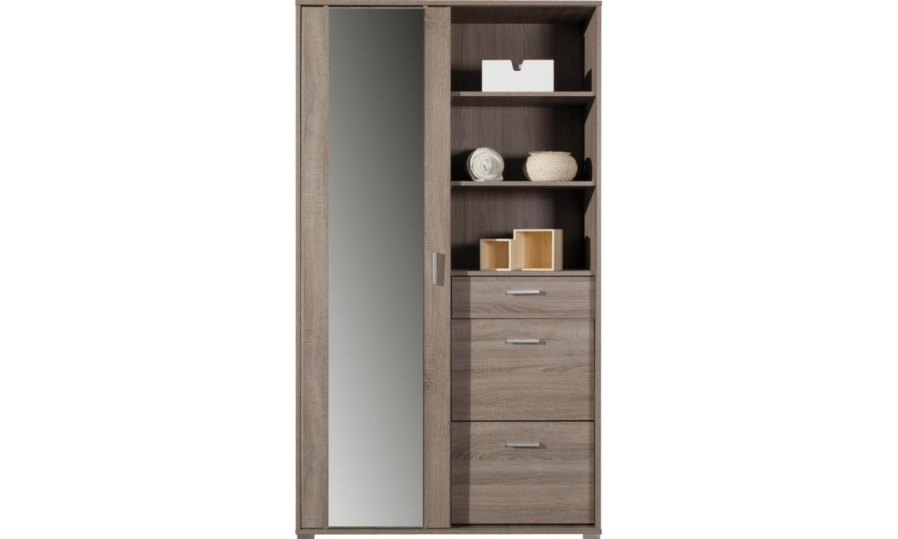 Garderobianka z lustrem OTIS