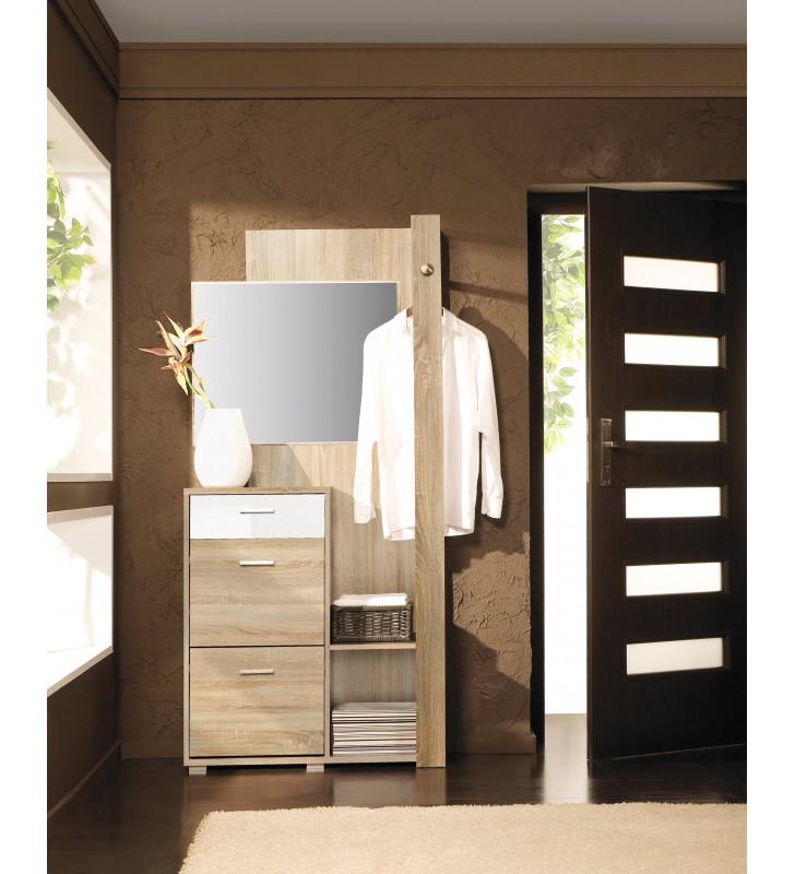 Garderobianka z lustrem CLIP