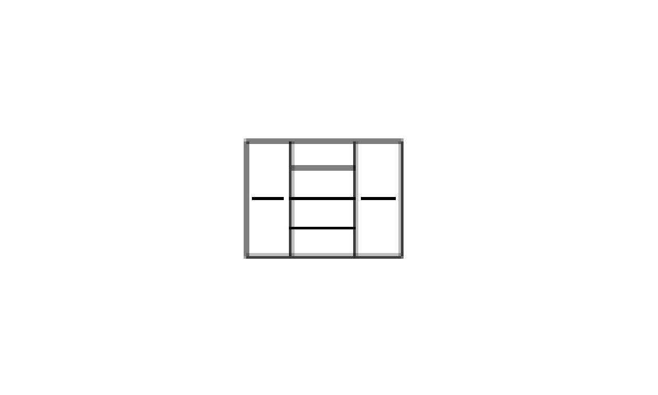 Zestaw mebli w stylu prowansalskim do salonu Kora 3
