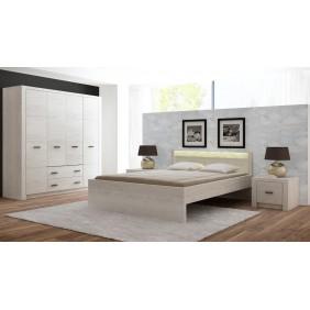Zestaw mebli w stylu nowoczesnym do sypialni JRI1